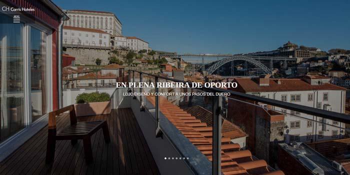 Web Carrís Porto Ribeira